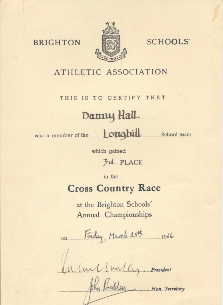 Danny - cross country race