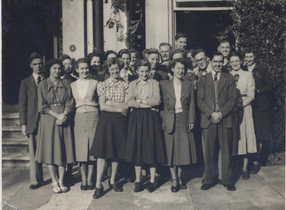 Eileen and friends in the 1940s