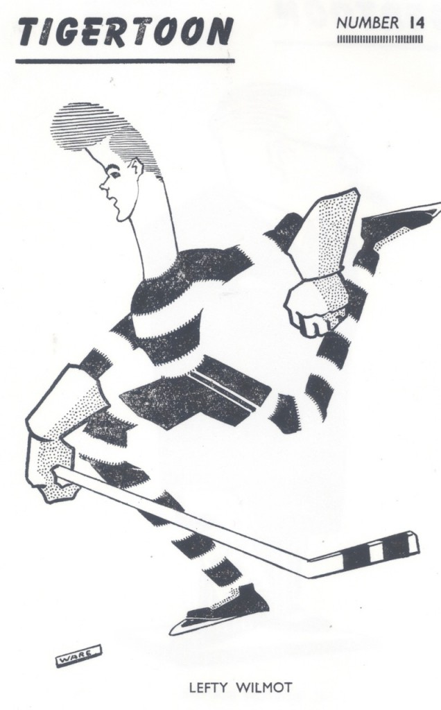 The Drawings of Benjamin Ware - The Ice Hockey Team