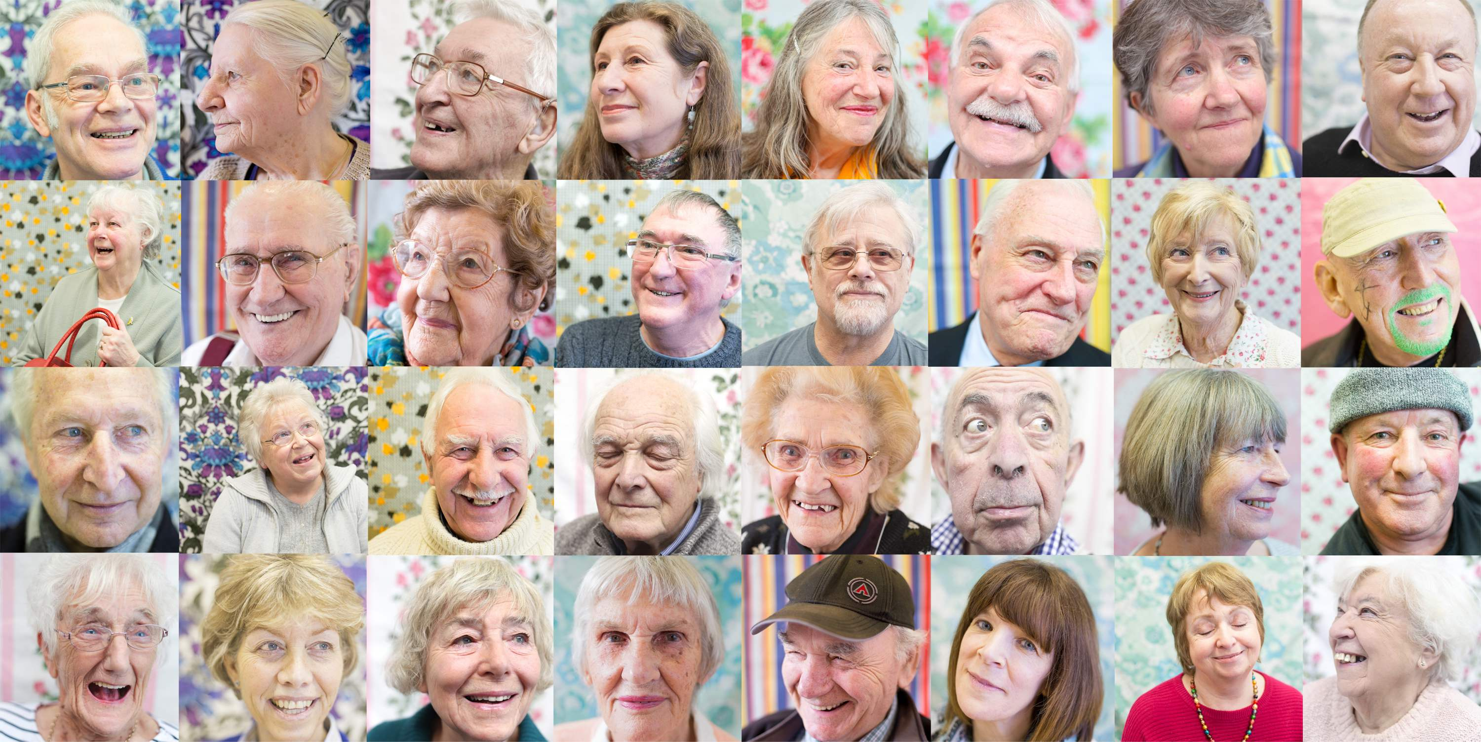 composite image of participants, photos by Elizabeth Doak